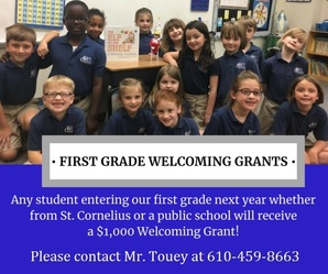 First Grade Welcoming Grants