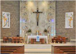 Mass will be streamed live from Mother of Mercy Chapel at the Diocesan Pastoral Center
