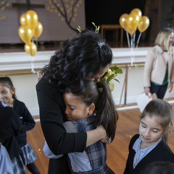 Sacred Heart Teacher, Grace Bogosian, Wins Prestigious Golden Apple