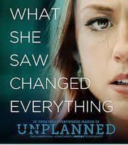 "Thank You for Participating in Matinee Viewing of ""Unplanned"""