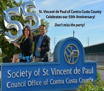 You're invited: St. Vincent de Paul party - June 29th