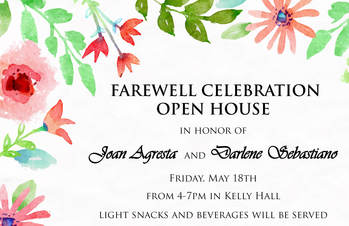 Farewell Celebration and Open House