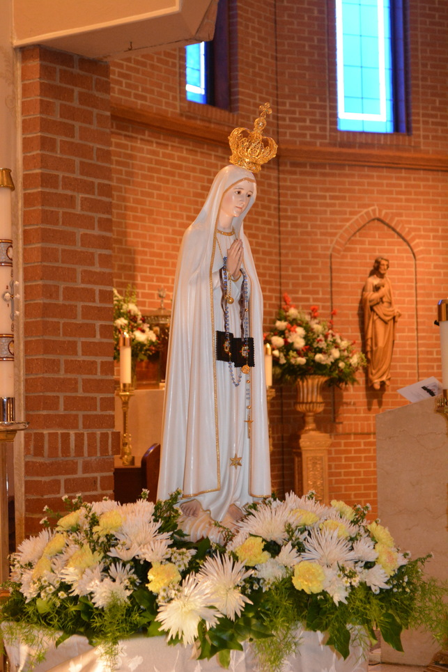 Our Lady of Fatima Visit November 16th,2019