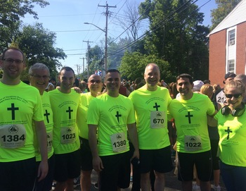 Gaspee Days Race--Vocations Running Team