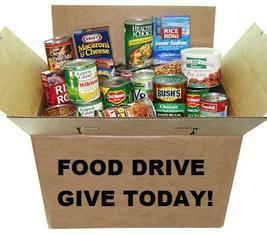 Food Drive Collection - Rice and Canned Vegetables