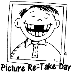 Picture Re-take Day