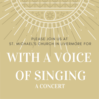 With a Voice of Singing - A St. Michael's Choir Concert