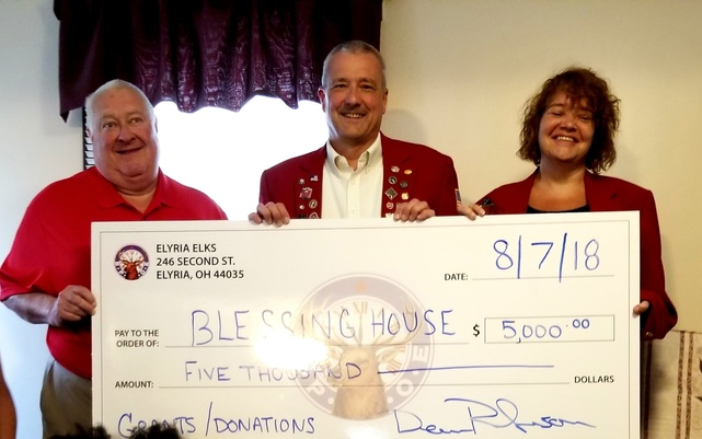 Our Special Thanks To    - Blessing House - Lorain, OH