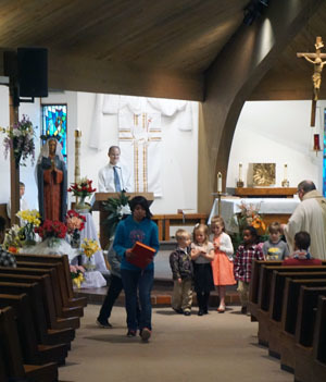 Children's Liturgy of the Word - Community of St  Mary & St
