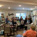 St. Mary students sing at Berkshire Niles Apartments