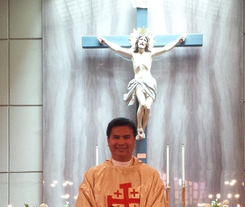 Congratulations Fr. Giovanni Gamas on your 11th yr priest ordination anniversary!