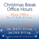 Christmas Break Office Hour