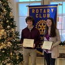Caceres & McNamara Named Rotary Athletes of the Month