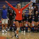 St. Teresa Volleyball Photos vs Springfield High