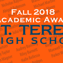St. Teresa Fall 2018 Academic Awards