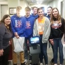 St. Teresa Students Practice with Artificial Intelligence at Millikin