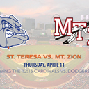 St. Teresa Heads to the Big Leagues!