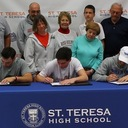 Multiple St. Teresa Athletes Sign Letters of Intent