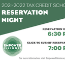 2021-22 Tax Credit Scholarship Reservation Night