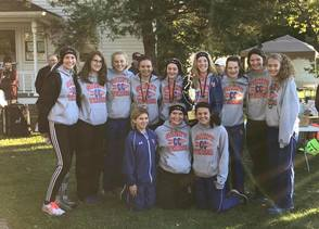 Girls' Cross Country - Conference Champs