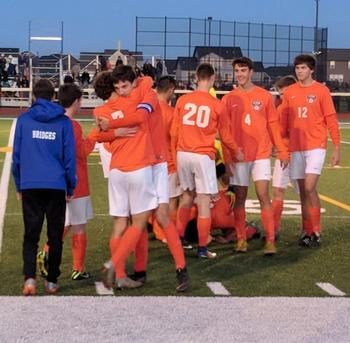 Boys' Soccer Heads to Sectional Championship Game