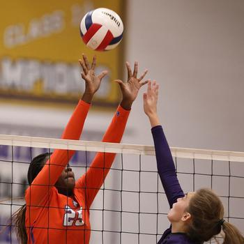 St. Teresa Volleyball Moves Up in Local Rankings
