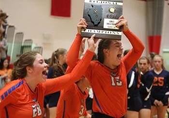 Volleyball Wins Regional Championship!