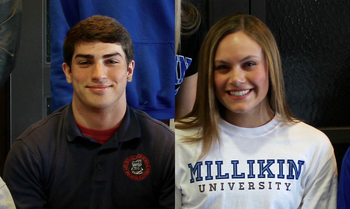 Bryles & Snow Sign to Play Collegiate Athletics