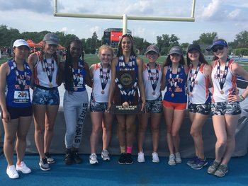 Girls' Track and Field Takes 3rd in State