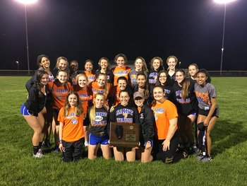 St. Teresa Girls' Track Team Win 4th Consecutive Sectional!