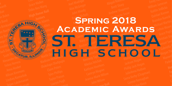 Spring 2018 Academic Awards