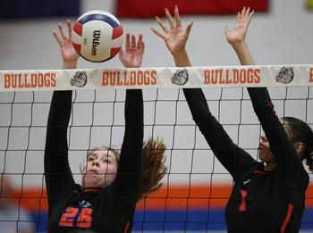 St. Teresa Volleyball Learns Through Losses