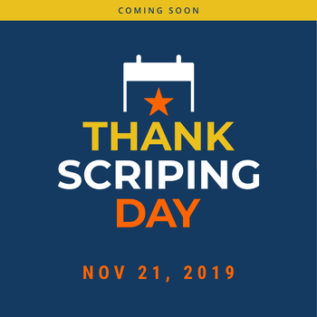 Thank SCRIPING Day