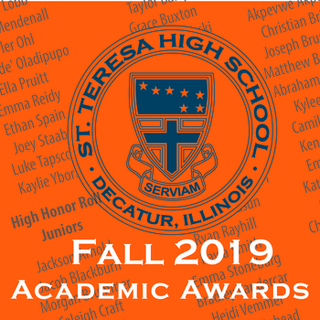 Fall 2019 Academic Awards