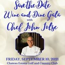 Annual Wne and Dine Gala with Chef John Folse