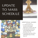 Mass Schedule Update!