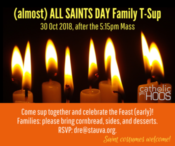 (almost) All Saints Day Family T-Sup!
