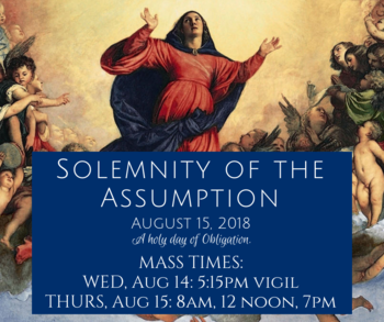 The Solemnity of the Assumption