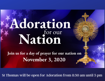 Adoration for our Nation