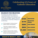 SFX Celebrates 175 years -Help Us Reach our Goal of $175,000