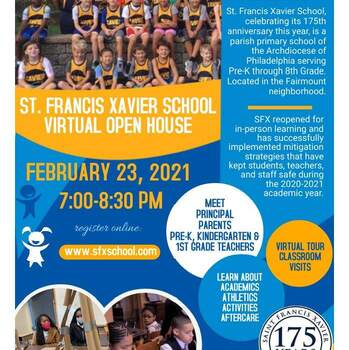 SFX Virtual Open House Feb. 23rd - 7pm-8:30pm