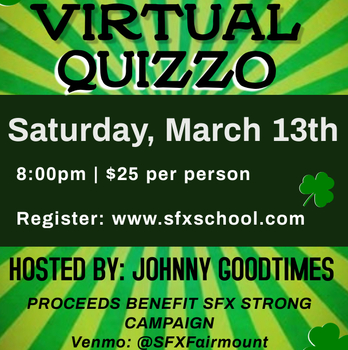 SFX Virtual Quizzo hosted by Johnny Goodtimes
