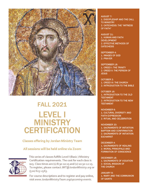 Level 1 Ministry Certification