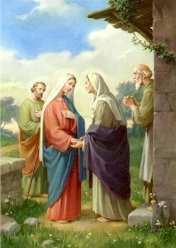 Morning Prayer- The Visitation of the Blessed Mother