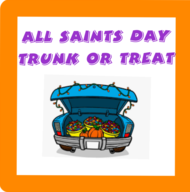 All Saints Day Trunk or Treat