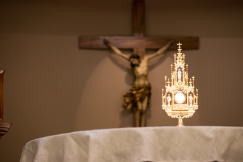 Adoration of Blessed Sacrament