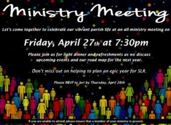 Ministry Meeting