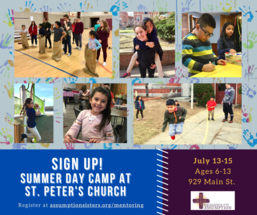 Summer Day Camp at St. Peter's Church