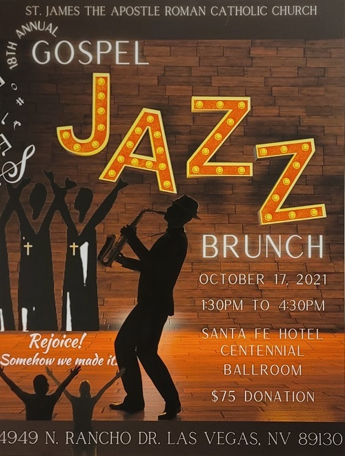 """""""Please click on flyer above to make donations to our Gospel Jazz Brunch Fundraiser and /or to purchase your ticket to the event."""""""