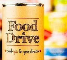 'END OF SPRING DRIVE -THRU FOOD DRIVE'